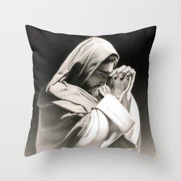"""Communion"" Throw Pillow"