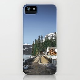 Emerald Lake iPhone Case