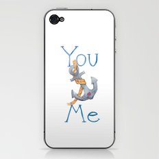 You Anchor Me iPhone & iPod Skin
