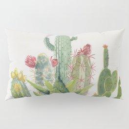 Cactus Watercolor Pillow Sham