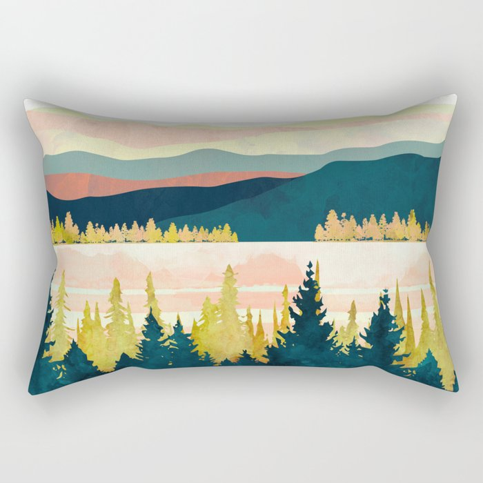 Lake Forest Rectangular Pillow