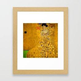 Gustav Klimt Bloch Bauer Framed Art Print