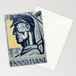 Vintage poster - Pennsylvania Stationery Cards
