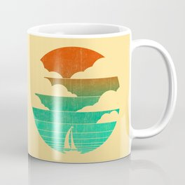 Go West (sail away in my boat) Coffee Mug