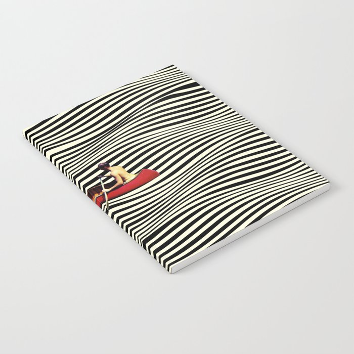 Illusionary Boat Ride Notebook