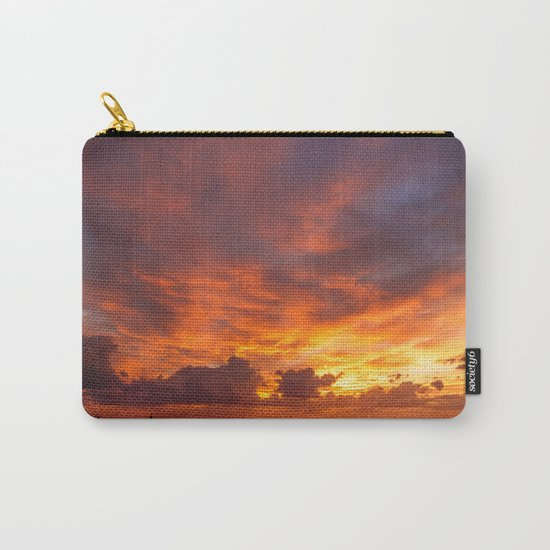 Burning Sunset Carry-All Pouch