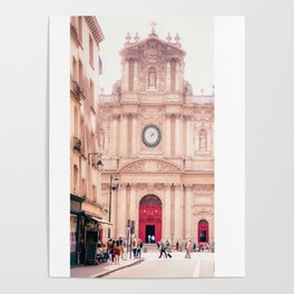 Saint-Paul Saint-Louis Church - Le Marais, Paris Poster