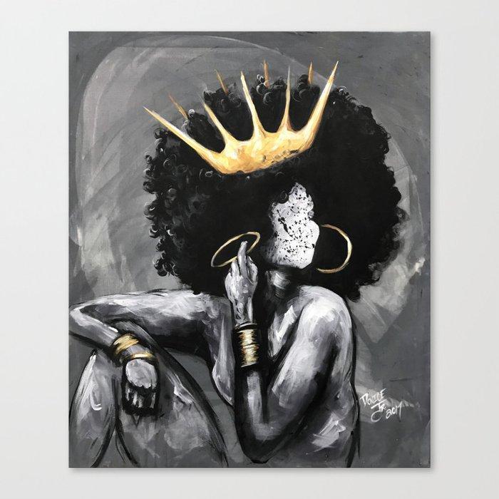 Naturally Queen VI Leinwanddruck