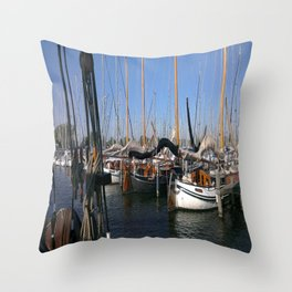 Beetween the seas of the netherlands Throw Pillow
