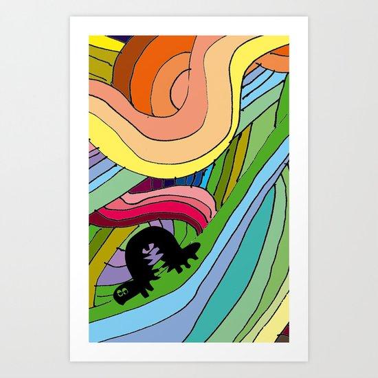BOBY Art Print