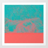 underwater Art Prints featuring underwater by JG-DESIGN