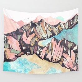 Solitary Beach Wall Tapestry