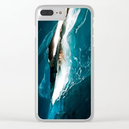 Glacial Lights Clear iPhone Case