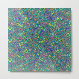 Abstract BZZ Metal Print