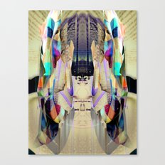 Chromatic Sanctum Canvas Print