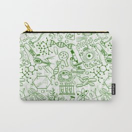 School Chemical pattern #1 Carry-All Pouch