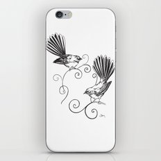 Fantails iPhone & iPod Skin