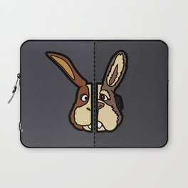 Old & New Peppy Hare Laptop Sleeve