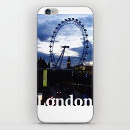 I still love you London! iPhone Skin