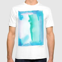 180815 Watercolor Rothko Inspired 6| Colorful Abstract | Modern Watercolor Art T-shirt