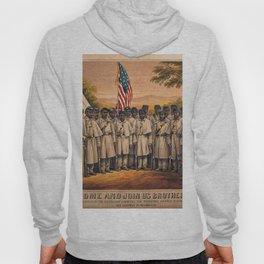 1863 Philadelphia, Pennsylvania African American Civil War Requirement Broadside Advertisement Poste Hoody