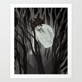 The Wych Elm Art Print