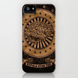 Kepala Otak You iPhone Case