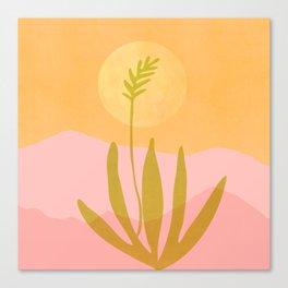 Southwest Sunset / Desert Landscape Canvas Print
