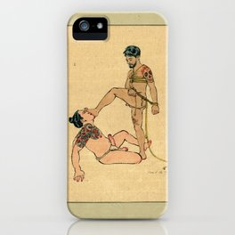 Kinbaku iPhone Case