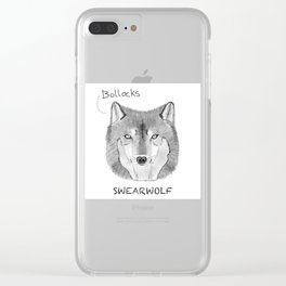 Swearwolf - What We Do In The Shadows Clear iPhone Case