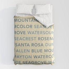 30A Communities (light) Comforters