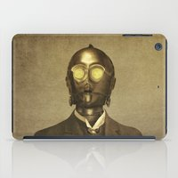 star iPad Cases featuring Baron Von Three PO  by Terry Fan