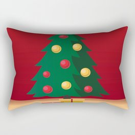 A icon of Christmas Rectangular Pillow