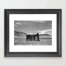 Home On The Range Framed Art Print