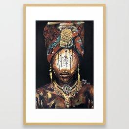 Naturally Danielle Desiree Framed Art Print