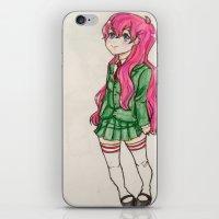 anime iPhone & iPod Skins featuring anime  by ArtGuts