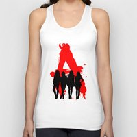 pretty little liars Tank Tops featuring A's Liars by Lindsay6Link