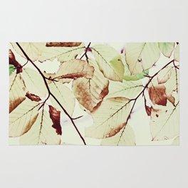 Leaves in October Rug
