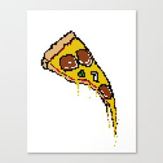 Pizze Slice Canvas Print