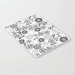 Supernatural Symbols Notebook