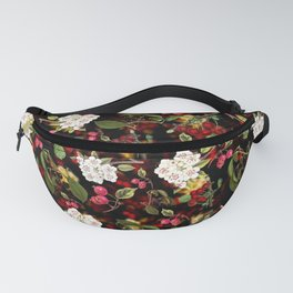 Cherries with Blossoms Fanny Pack