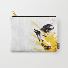 Street art yellow painting colors fashion Jacob's Paris Carry-All Pouch