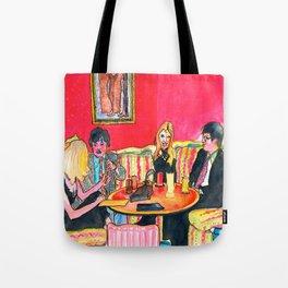 Japan's nightlife Tote Bag