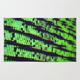 Binary Code Rug