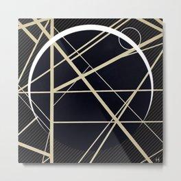 Crossroads - Crescent Metal Print