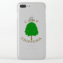 Camp Chippewa Clear iPhone Case
