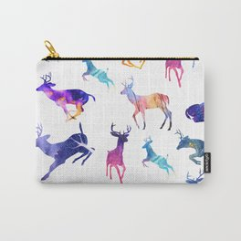 Watercolor deer pattern Carry-All Pouch