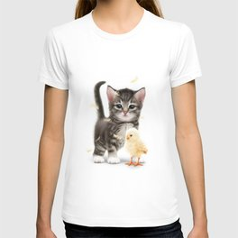 The PUSSYcat and the Chick T-shirt