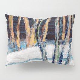 White Birch Grove / Dennis Weber / ShreddyStudio Pillow Sham
