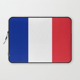 Flag of France, HQ image Laptop Sleeve
